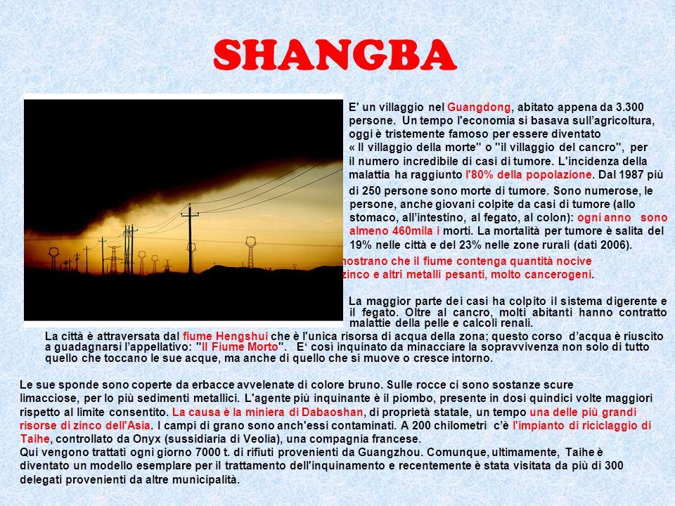 SHANGBA E un villaggio nel Guangdong, abitato appena da 3.300