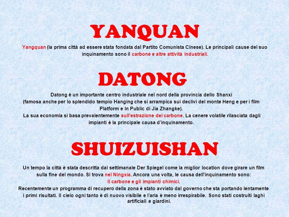 YANQUAN DATONG SHUIZUISHAN