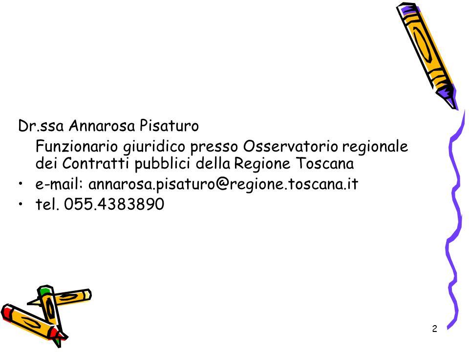 Dr.ssa Annarosa Pisaturo