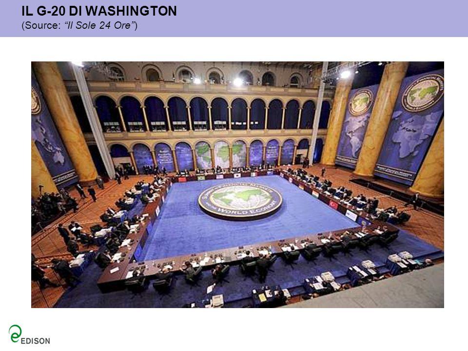 IL G-20 DI WASHINGTON (Source: Il Sole 24 Ore )