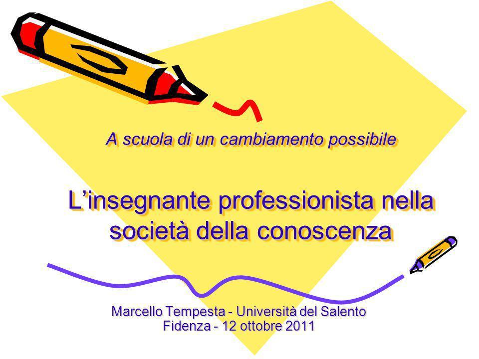 Marcello Tempesta - Università del Salento Fidenza - 12 ottobre 2011