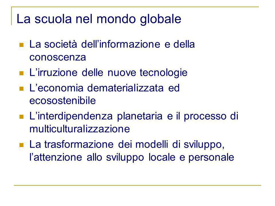 La scuola nel mondo globale