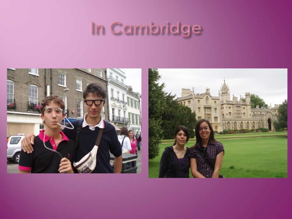 In Cambridge