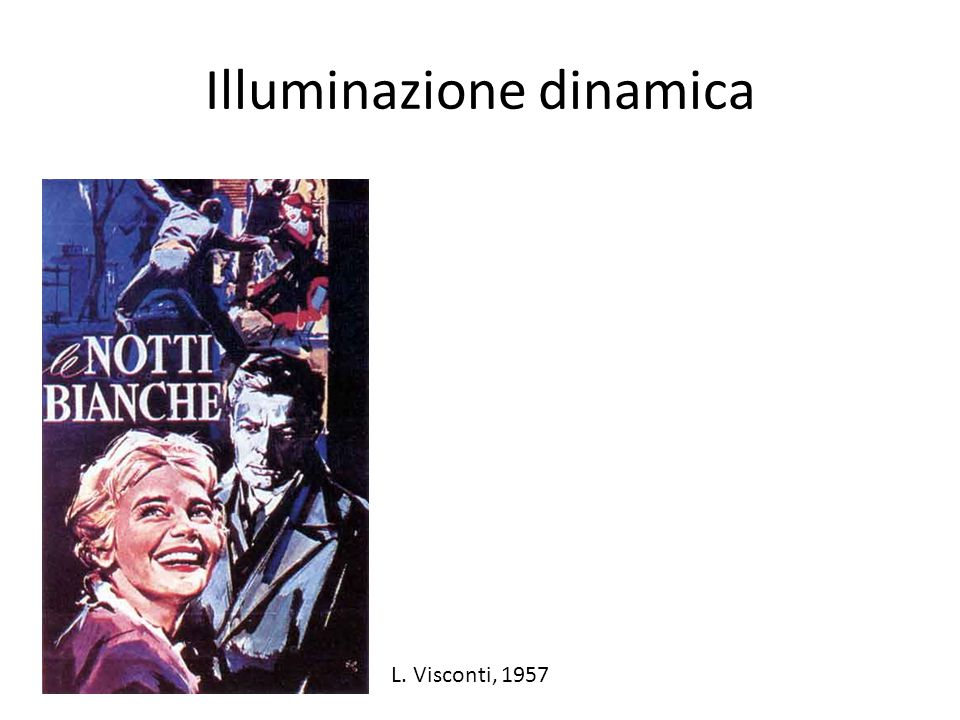 Illuminazione dinamica
