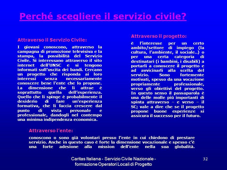 Perché scegliere il servizio civile