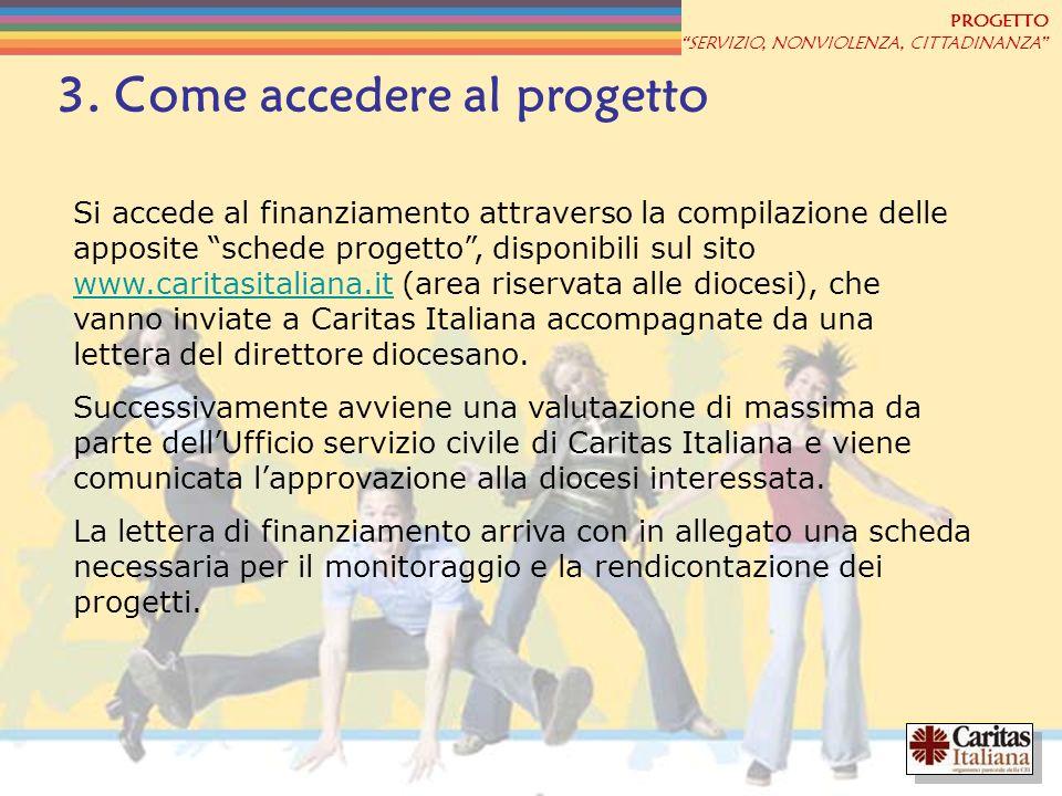 3. Come accedere al progetto