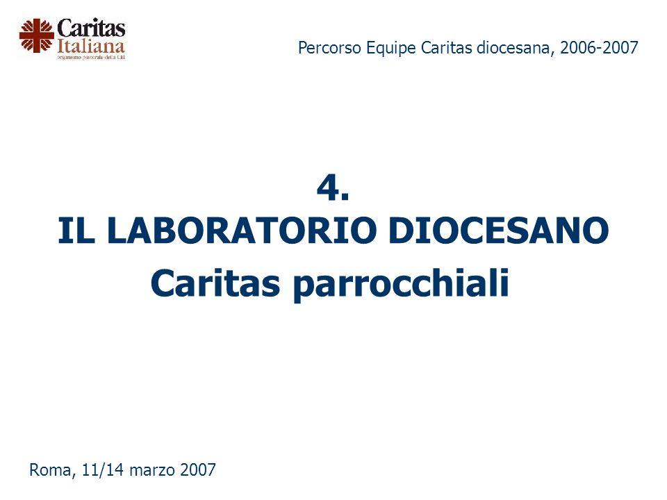 4. IL LABORATORIO DIOCESANO