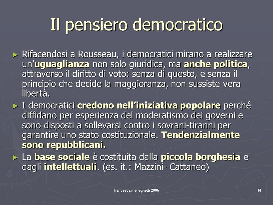 Il pensiero democratico