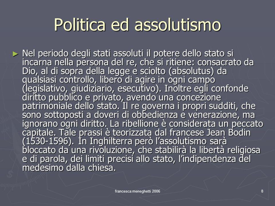 Politica ed assolutismo