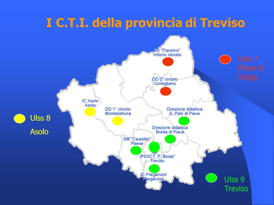I C.T.I. della provincia di Treviso