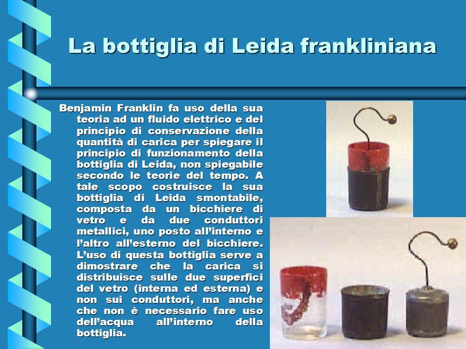 La bottiglia di Leida frankliniana