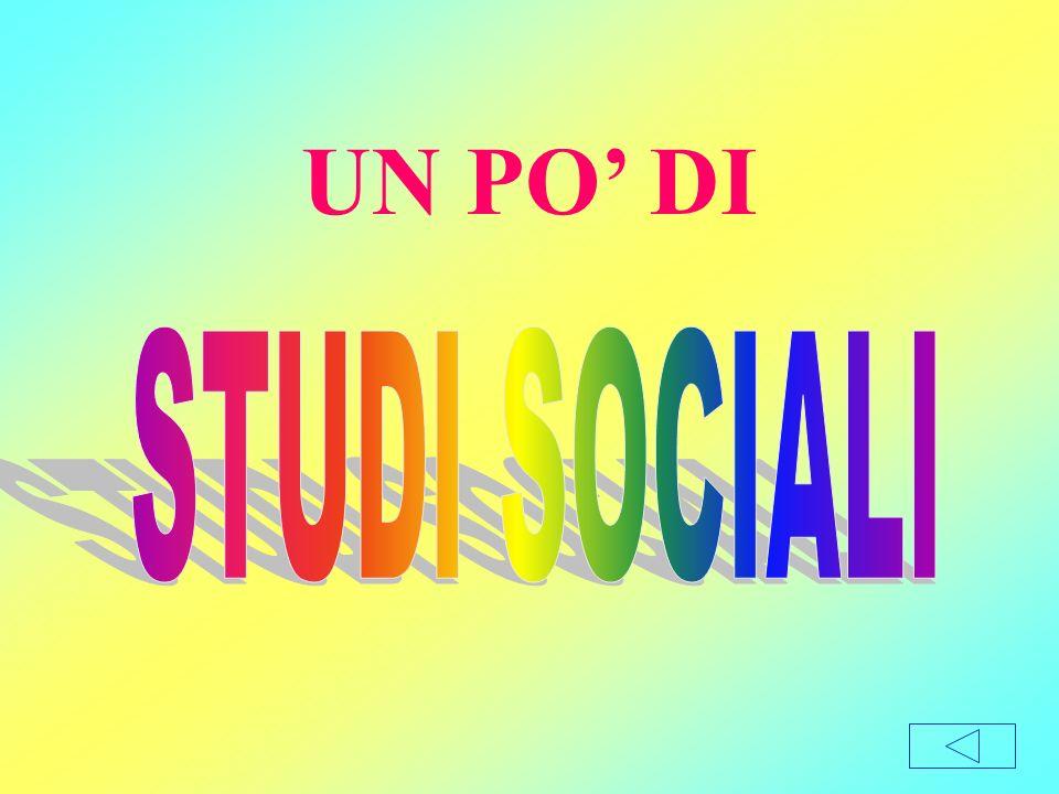 UN PO' DI STUDI SOCIALI