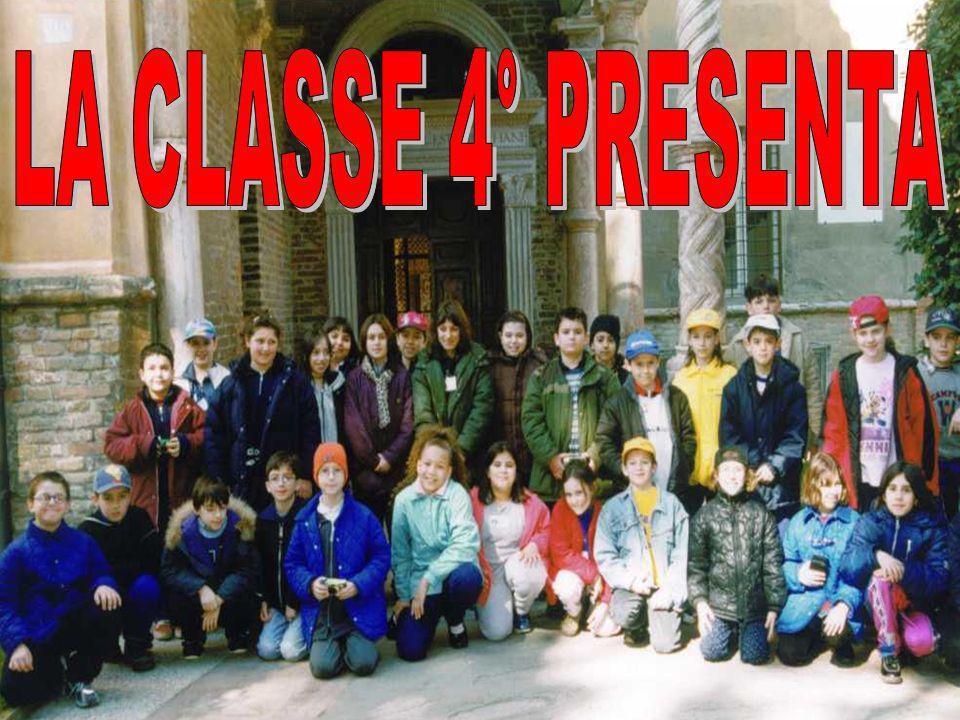 LA CLASSE 4° PRESENTA
