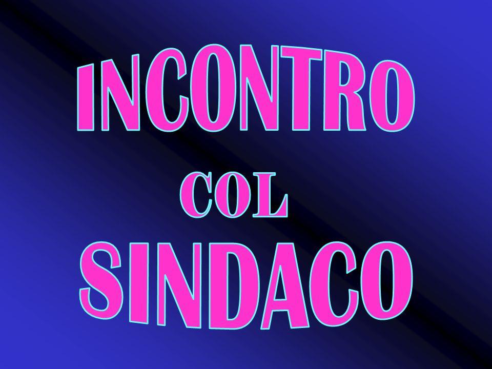 INCONTRO COL SINDACO