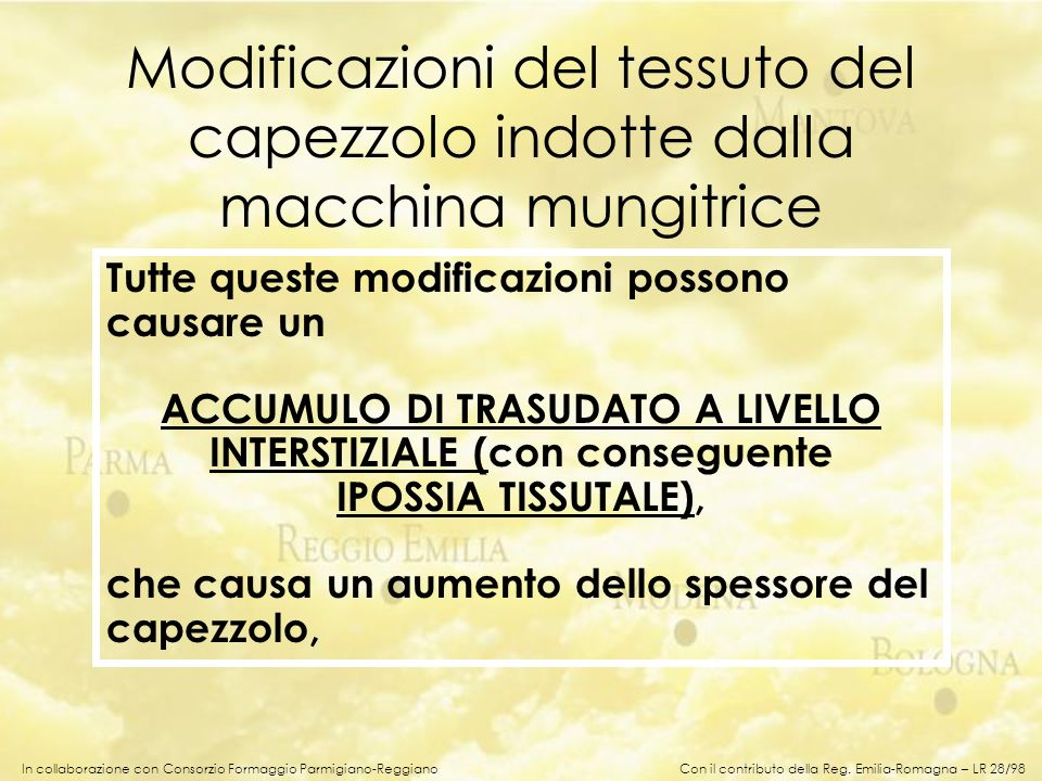 ACCUMULO DI TRASUDATO A LIVELLO INTERSTIZIALE (con conseguente