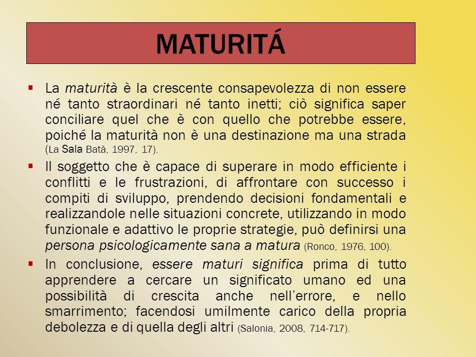 MATURITÁ