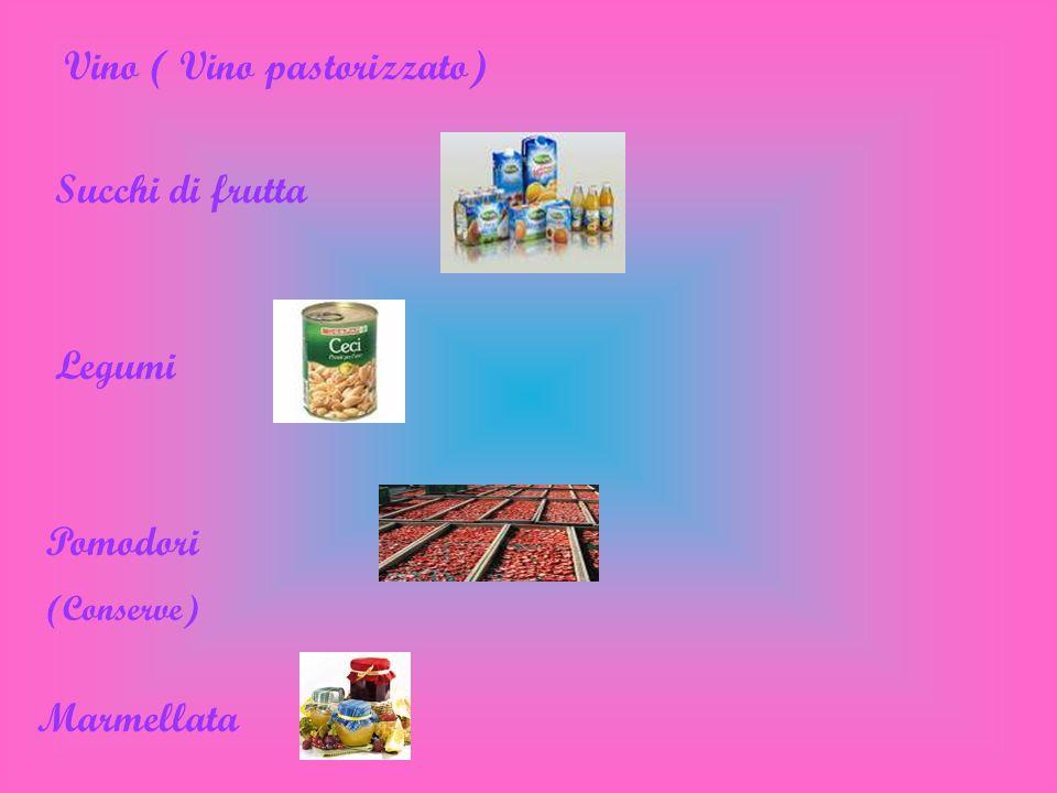 Vino ( Vino pastorizzato)