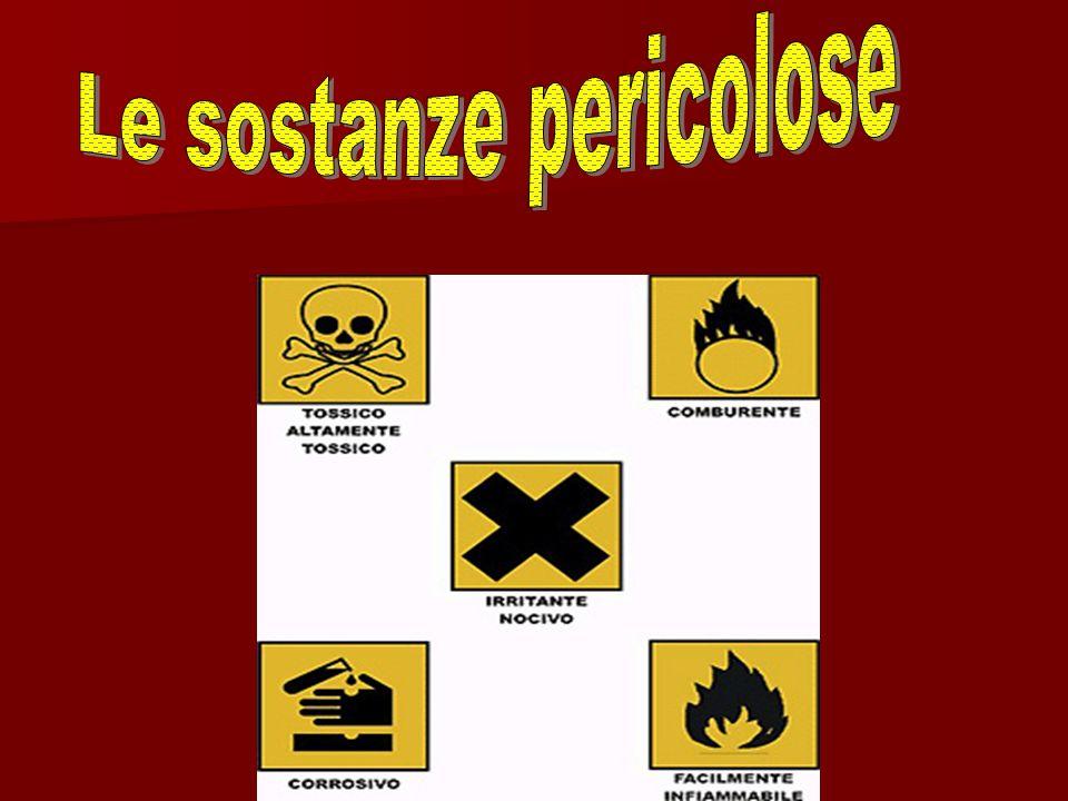 Le sostanze pericolose