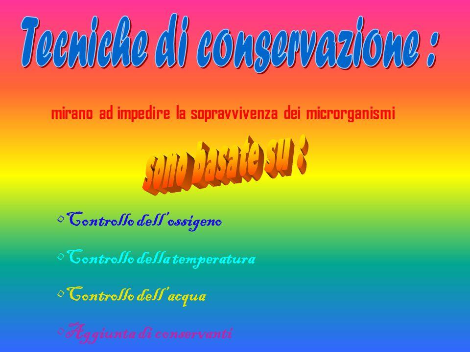 Tecniche di conservazione :