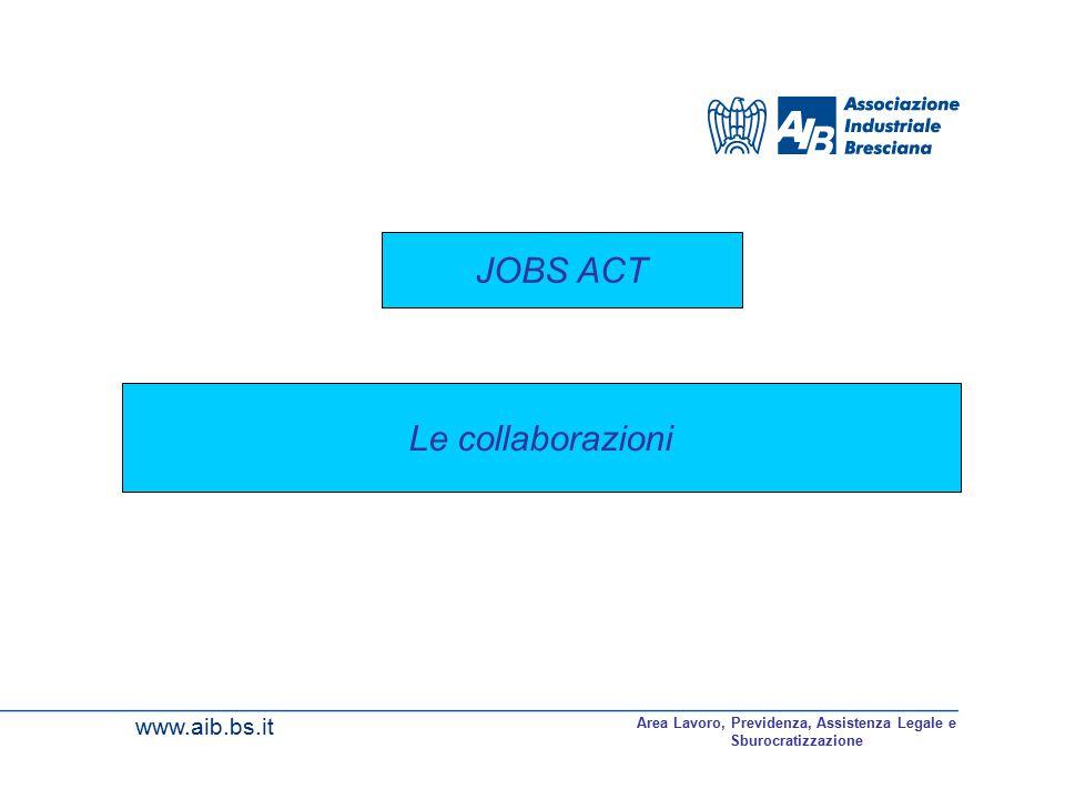 Area Lavoro, Previdenza, Assistenza Legale e Sburocratizzazione