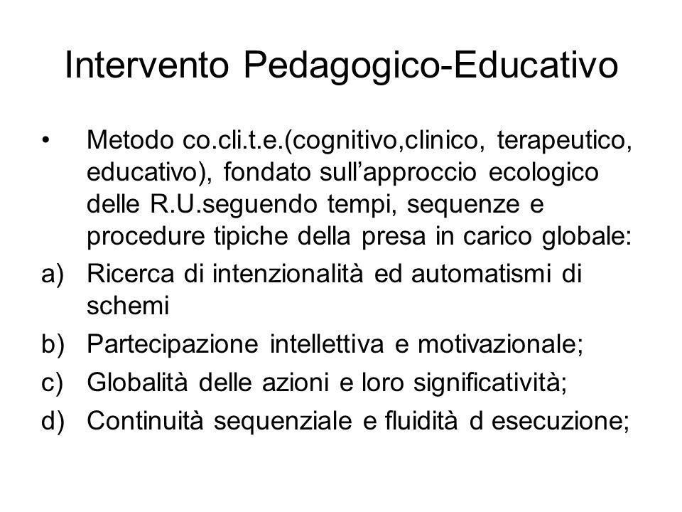 Intervento Pedagogico-Educativo