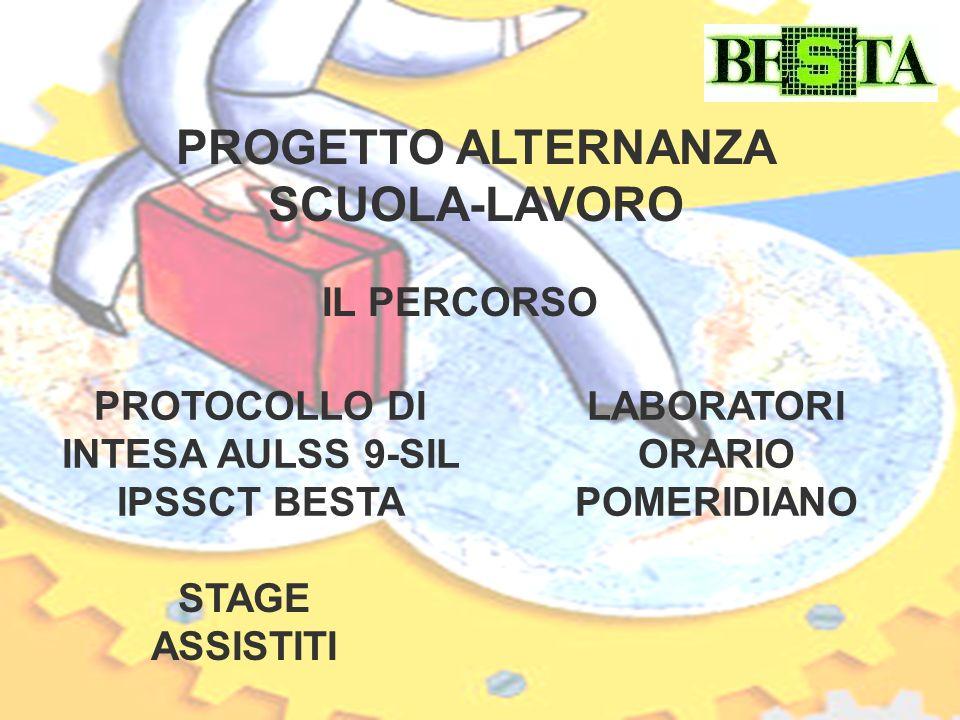 PROGETTO ALTERNANZA SCUOLA-LAVORO