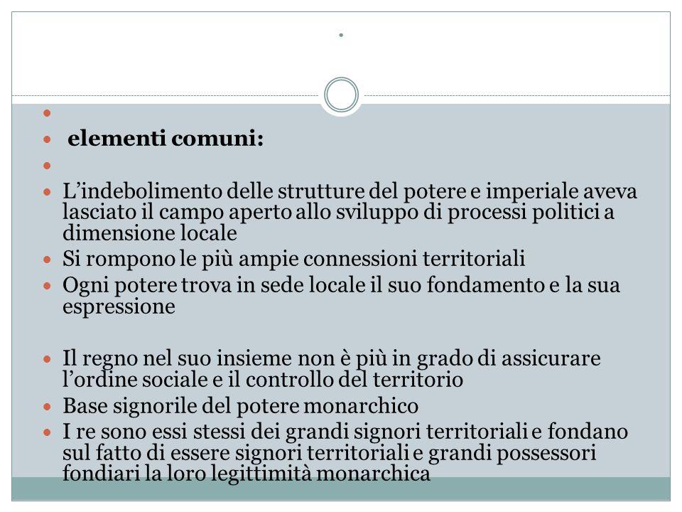 . elementi comuni:
