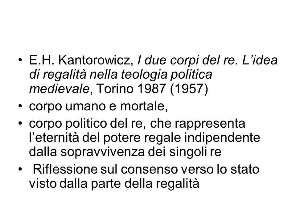 E. H. Kantorowicz, I due corpi del re