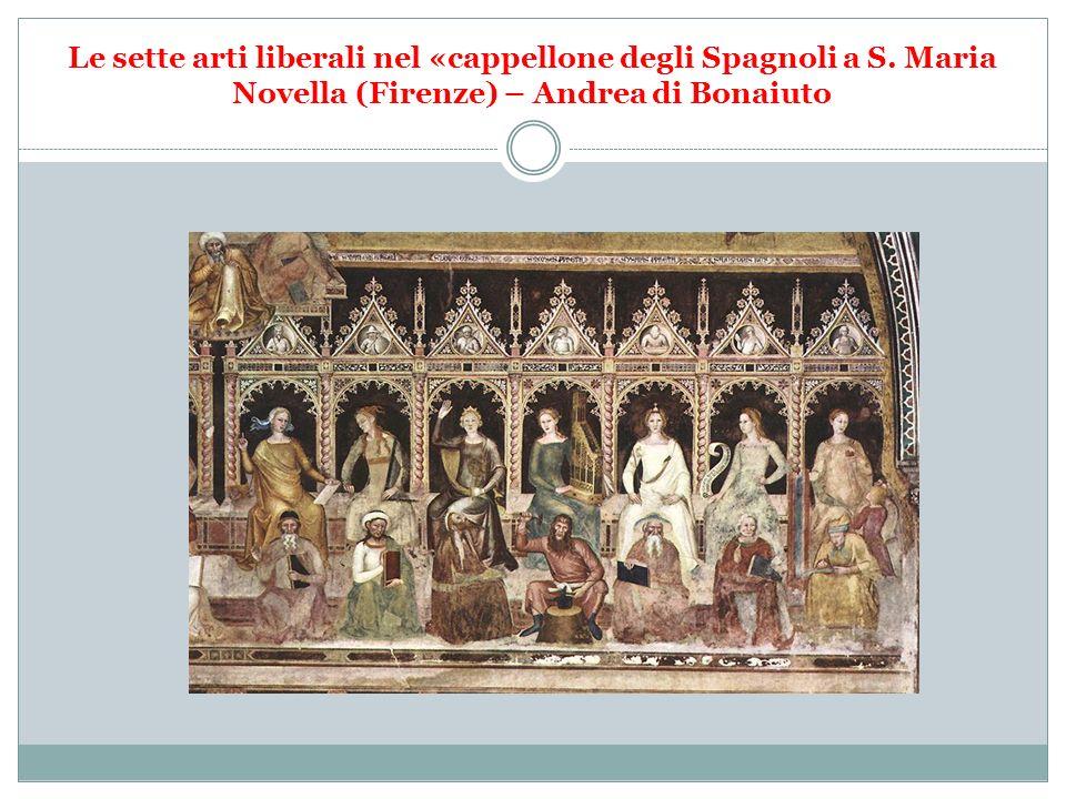 Le sette arti liberali nel «cappellone degli Spagnoli a S