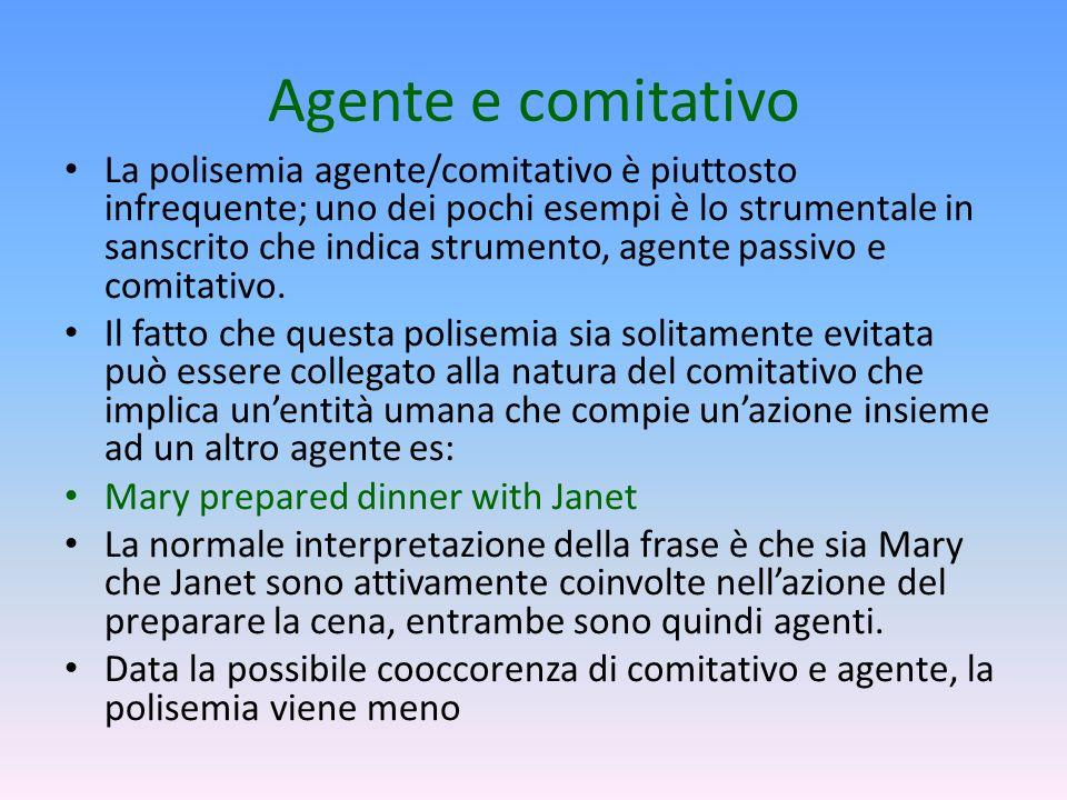Agente e comitativo