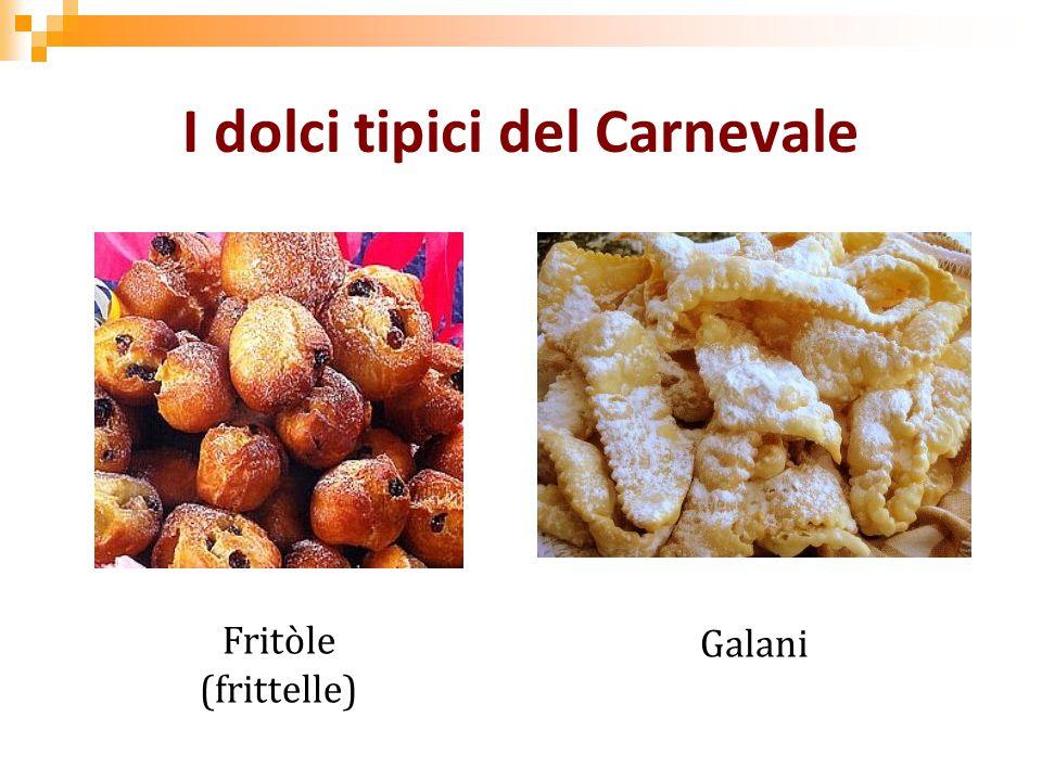 I dolci tipici del Carnevale