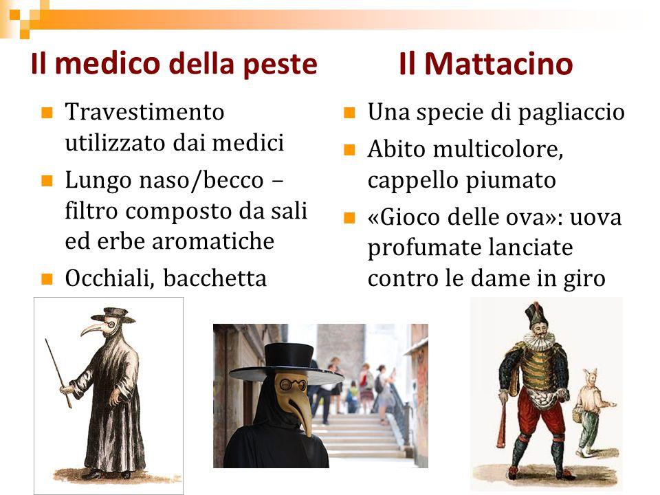 Il Mattacino Il medico della peste Travestimento utilizzato dai medici