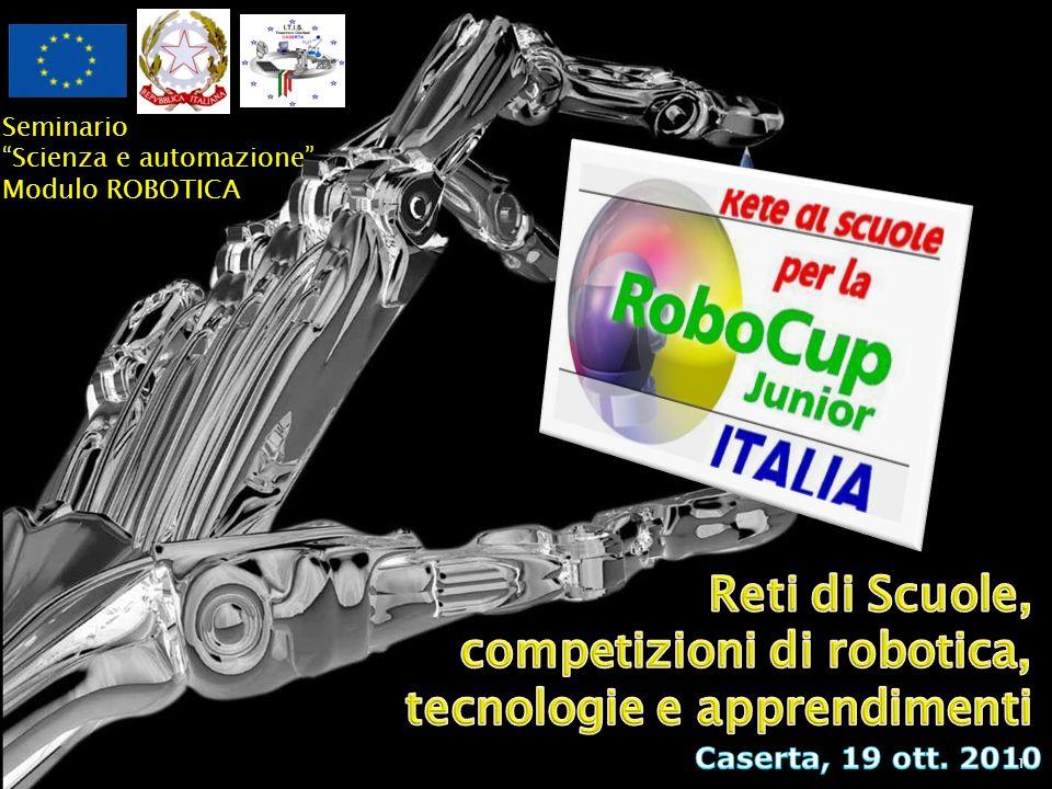 Reti di Scuole, competizioni di robotica, tecnologie e apprendimenti
