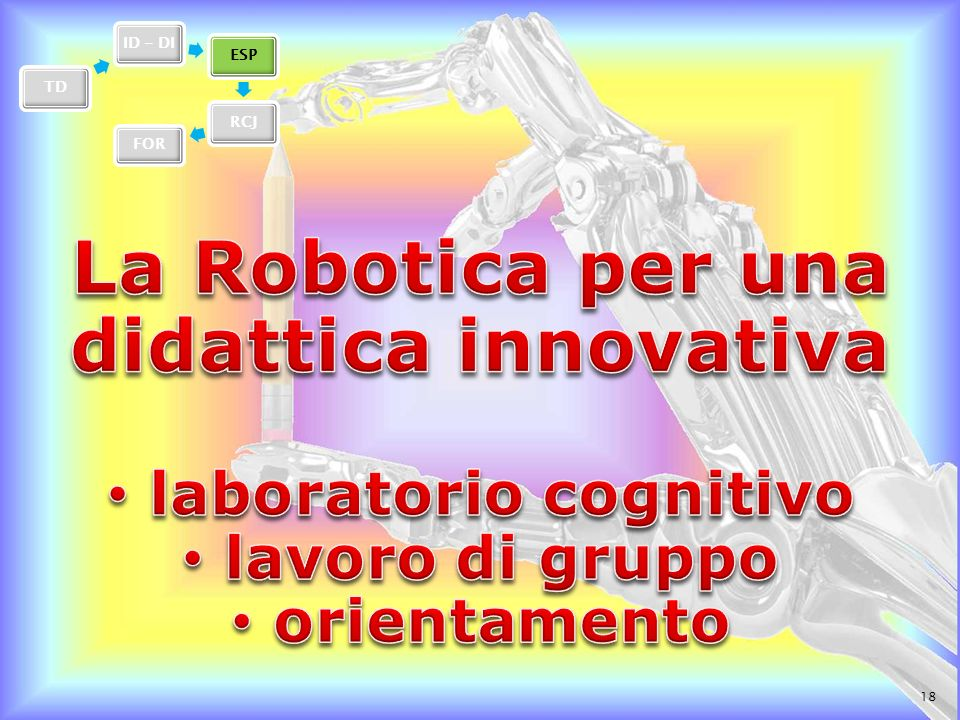 La Robotica per una didattica innovativa laboratorio cognitivo