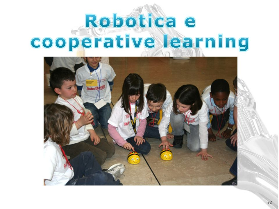Robotica e cooperative learning
