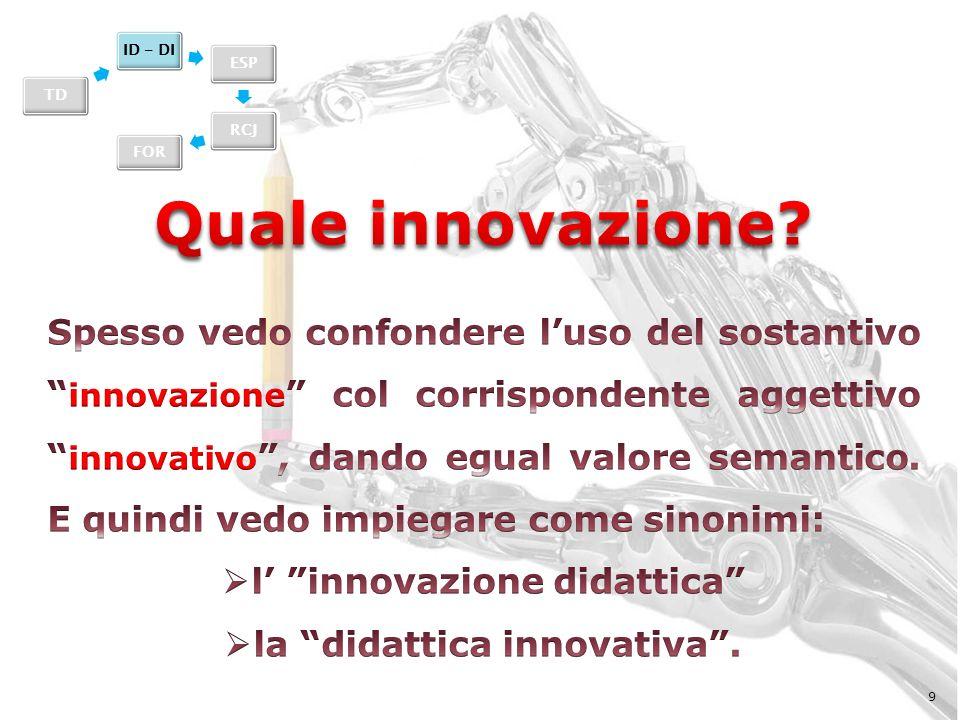 l' innovazione didattica la didattica innovativa .