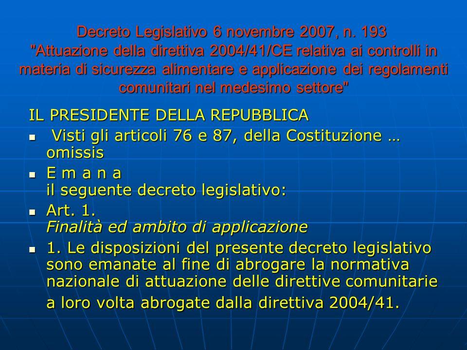 Decreto Legislativo 6 novembre 2007, n