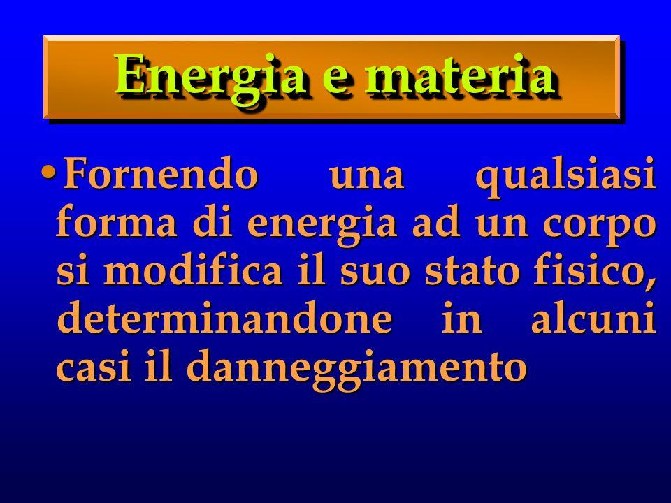 Energia e materia