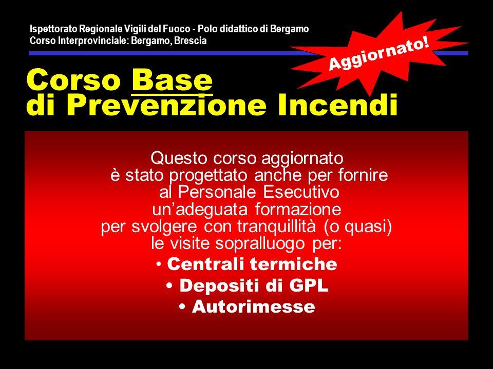Corso Base di Prevenzione Incendi