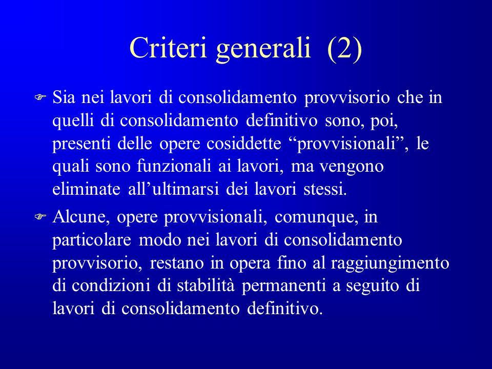 Criteri generali (2)