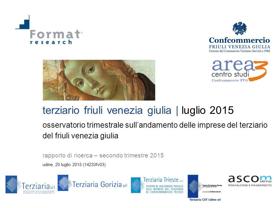 terziario friuli venezia giulia | luglio 2015