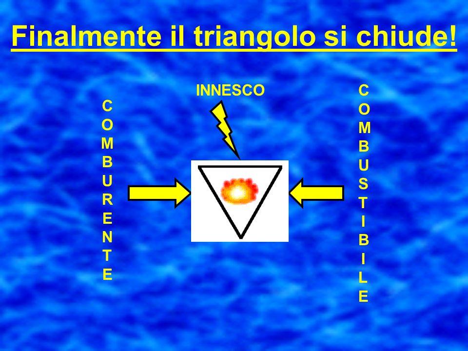 Finalmente il triangolo si chiude!