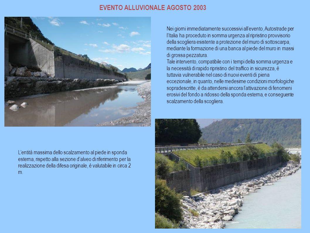 EVENTO ALLUVIONALE AGOSTO 2003
