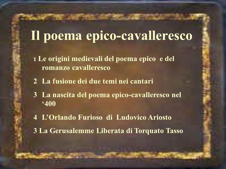 Il poema epico-cavalleresco