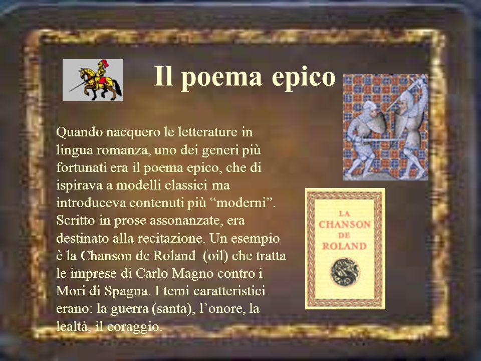 Il poema epico
