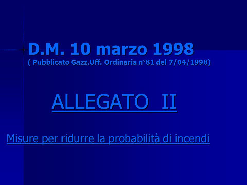 D. M. 10 marzo 1998 ( Pubblicato Gazz. Uff