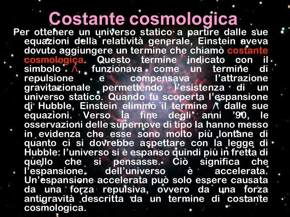 Costante cosmologica