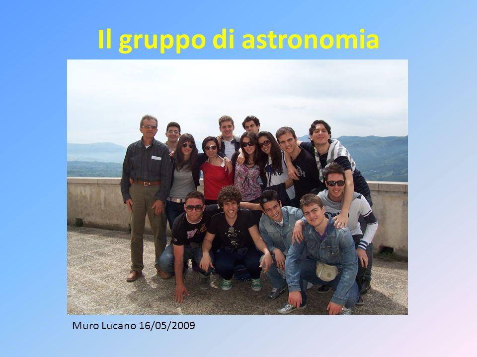 Il gruppo di astronomia
