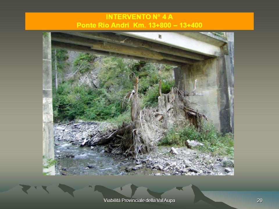 Viabilità Provinciale della Val Aupa