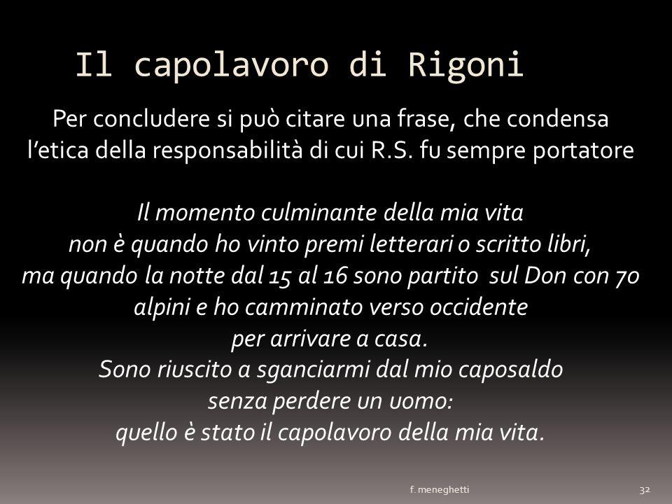Il capolavoro di Rigoni